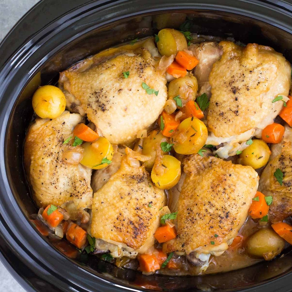 Slow cook Chicken Breast with Vegetable