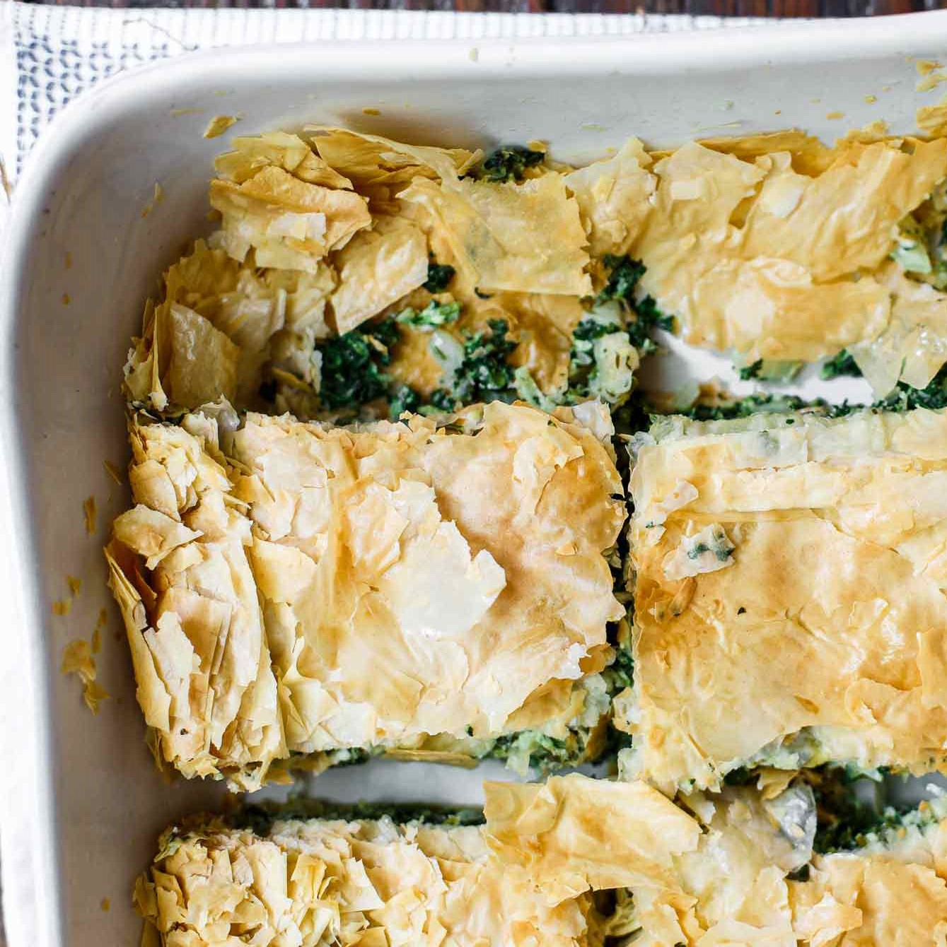 Greek Spinach and Feta Cheese Pie